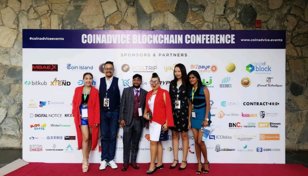 CoinAdvice Blockchain Conference Speakers organisers