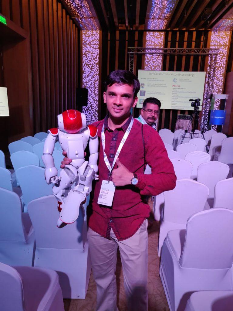 IBM Developer Day 2019 AI Robot