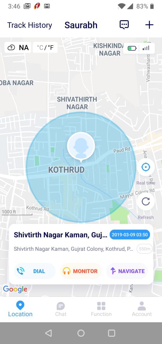 Ojoy A1 4G LTE GPS Smartwatch APP 3