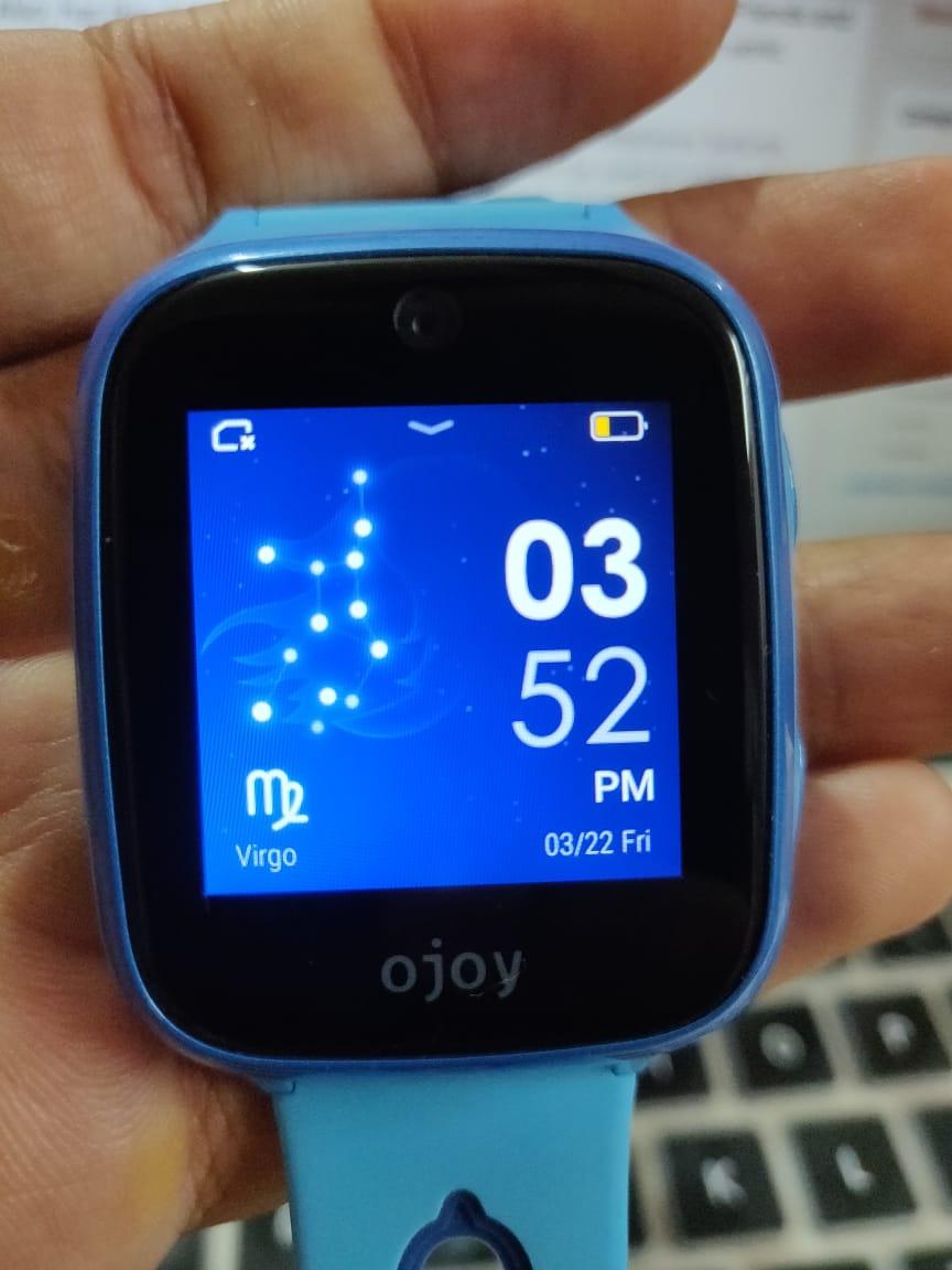 Ojoy A1 4G LTE GPS Smartwatch Screen