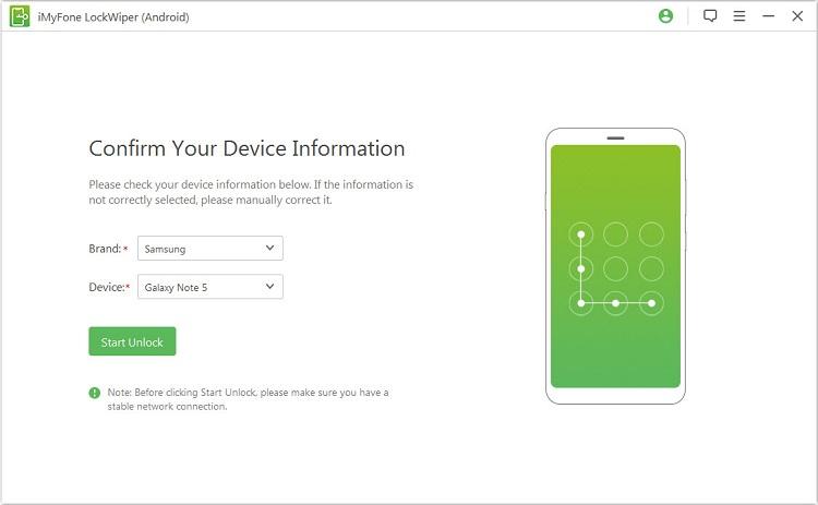 imyphone LockWiper android unlock