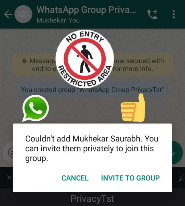 How to Stop People from Adding You into Unnecessary WhatsApp