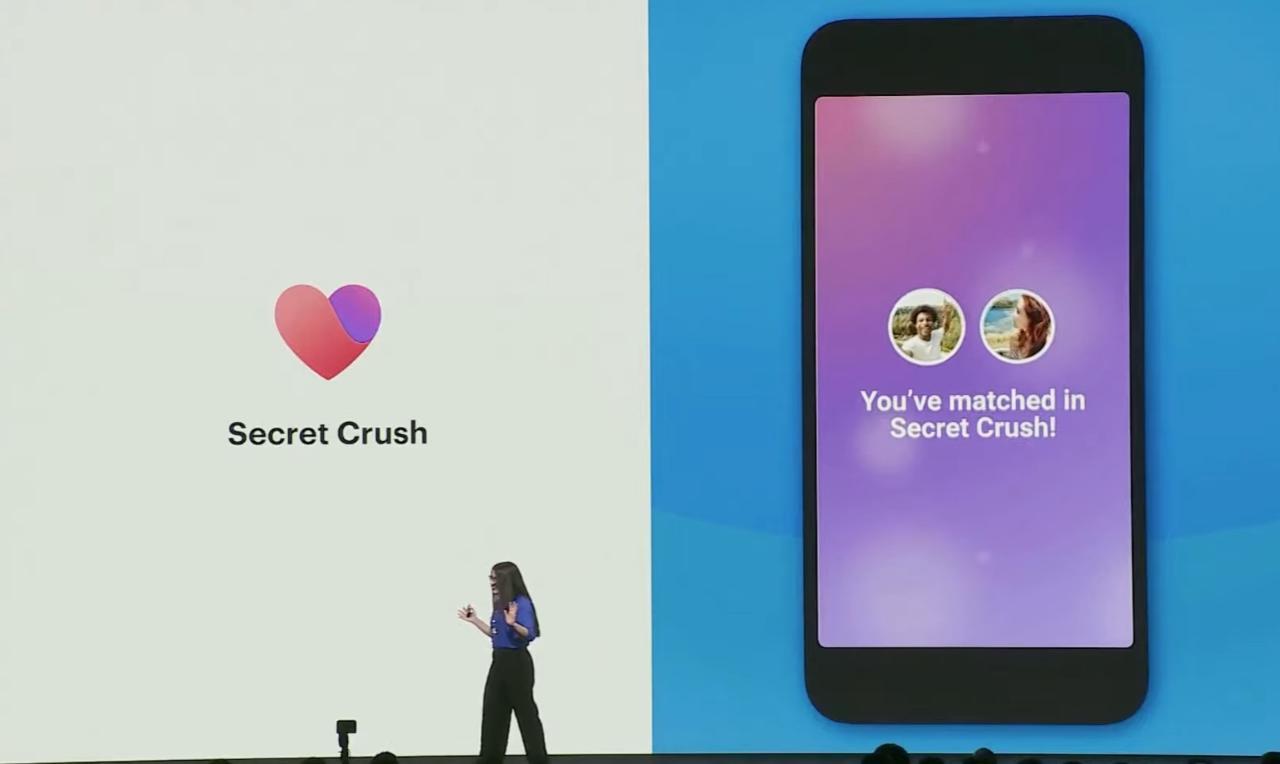 Facebook Dating Send Crush Feature -Match