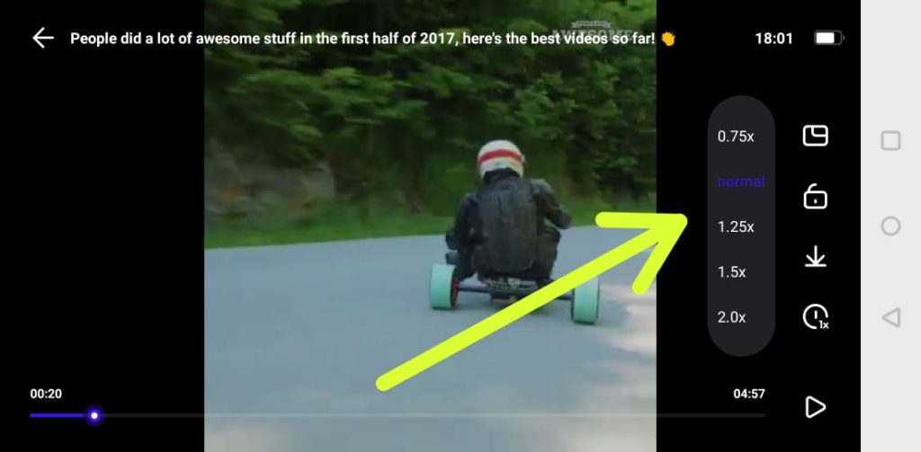 Fast Forward Videos