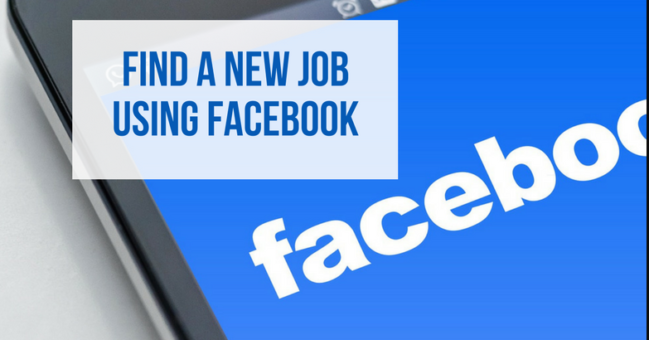 Find Job Using Facebook