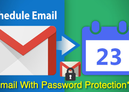 Schedule gmail email send confidential email