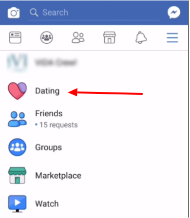 facebook dating accessing
