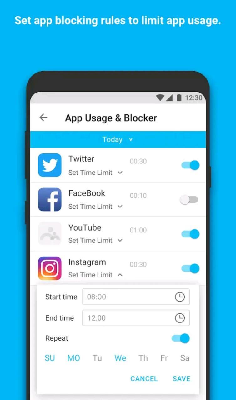 Applock parenting app famisafe app