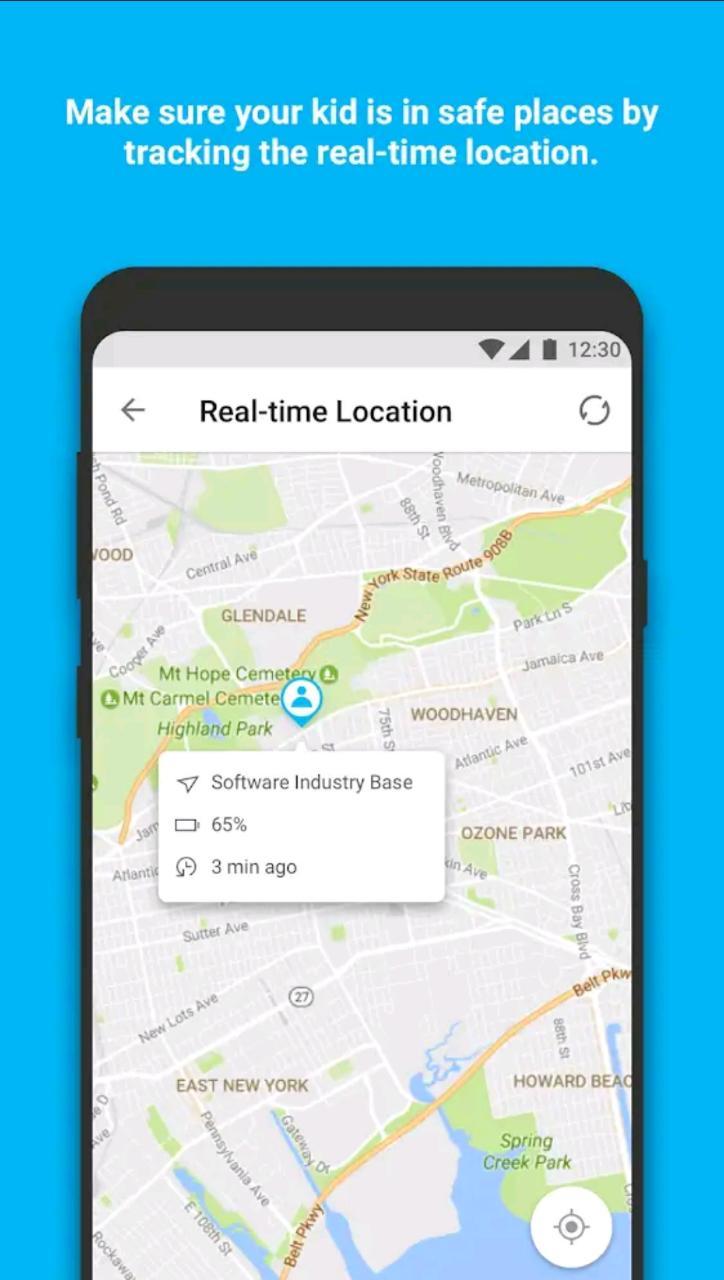 Geo-Location parenting app famisafe app