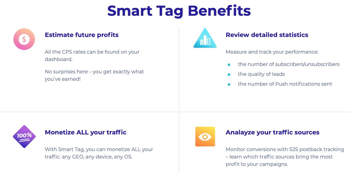 ProPush SmartTag Benefits