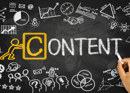 different type of content for bloggers