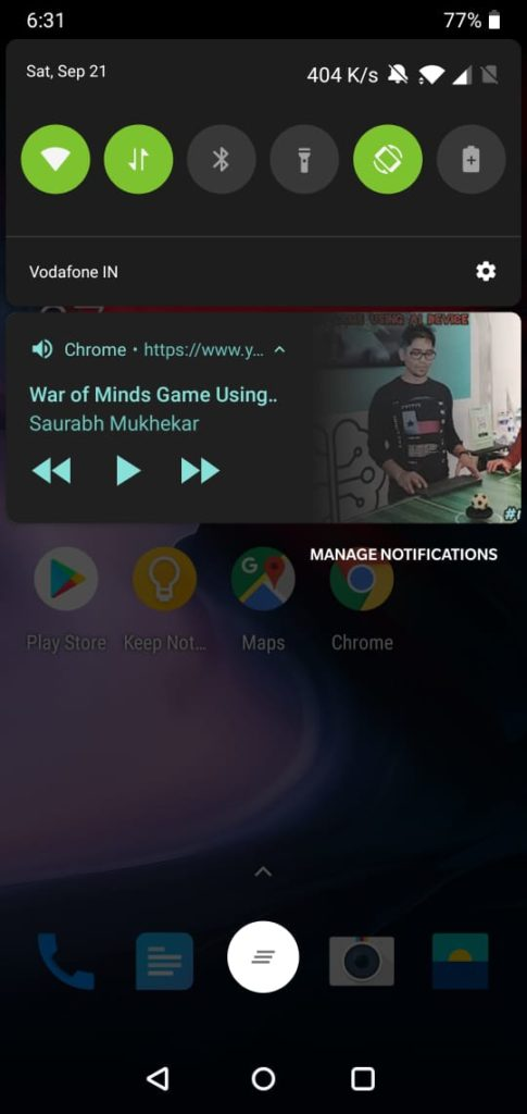 Play YouTube In Background when phone locked-5