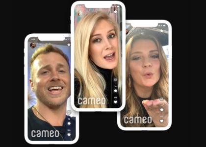 cameo Celebrity Shoutout App