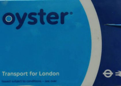 Damage Oyster Card london Replace
