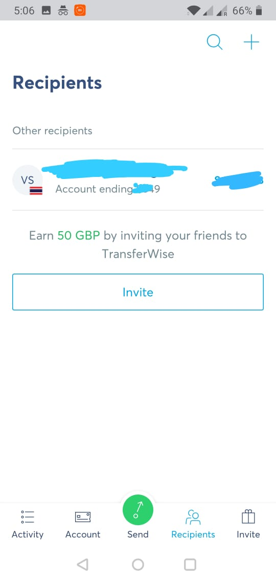 Transfer Funds Abroad Using Transferwise -2
