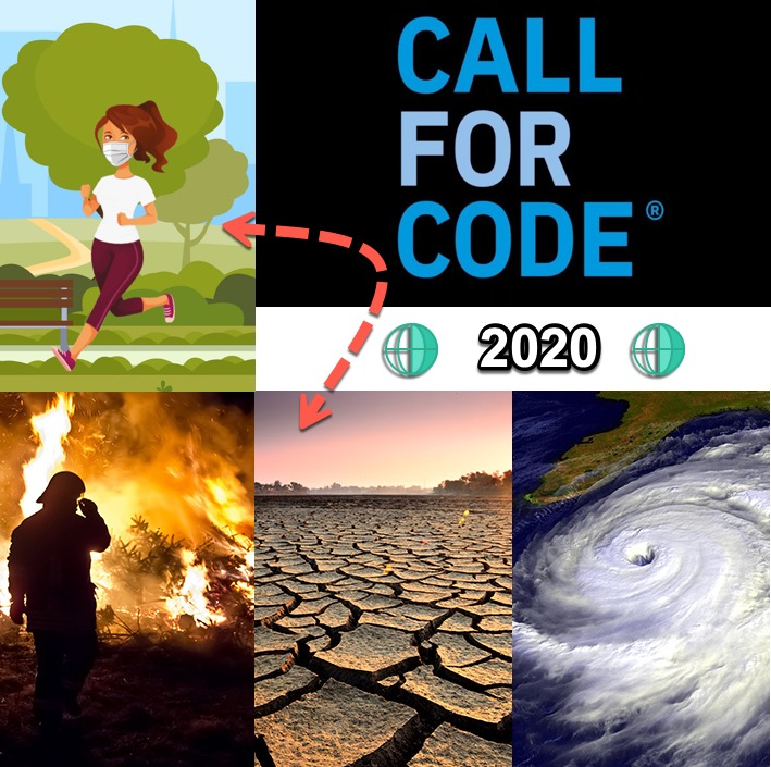 Call For Code 2020- Covid19-CLIMATE CHANGE