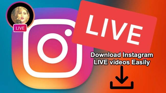 Instagram Live Video Download