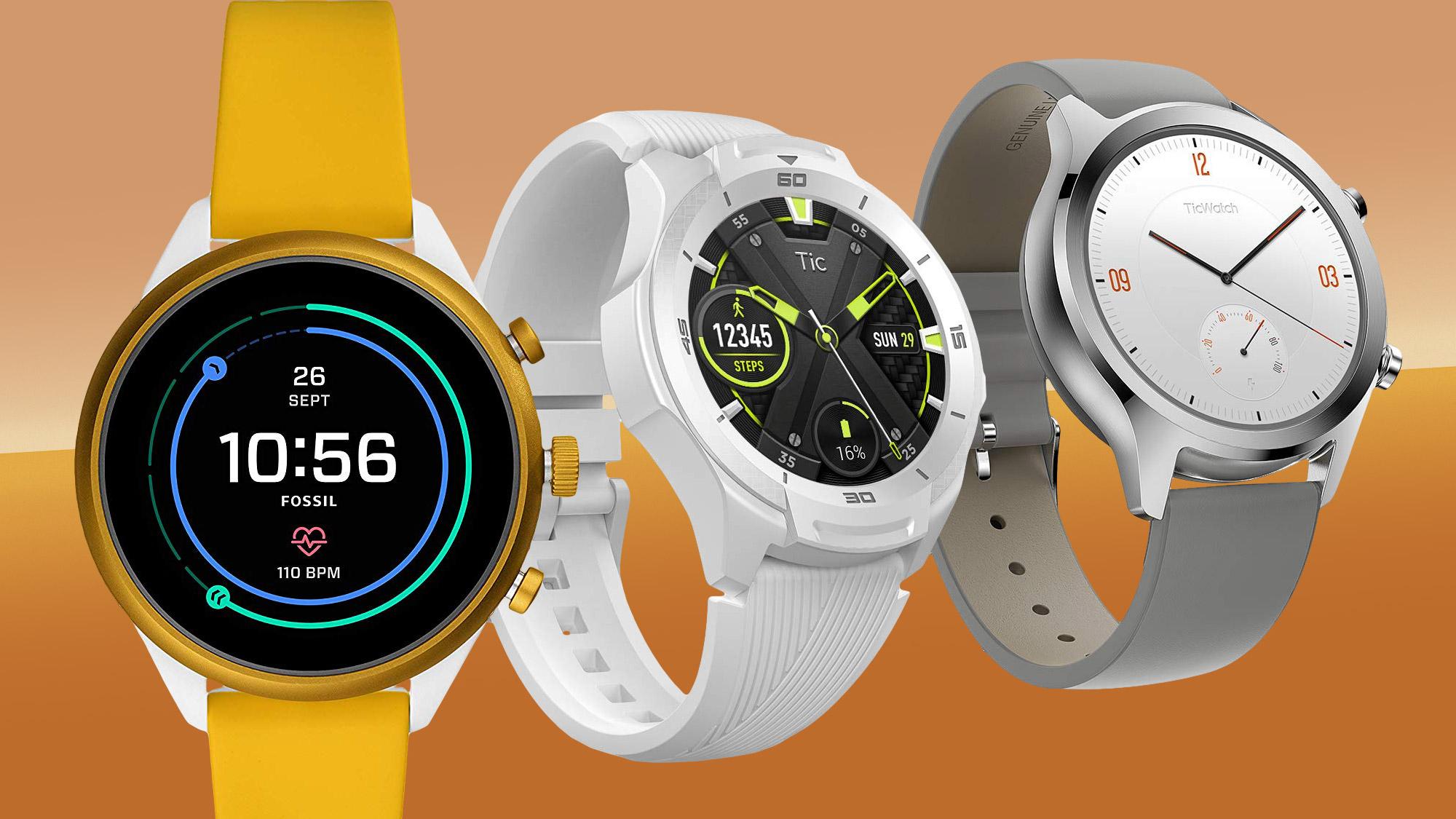 Google Wear OS smartwatches