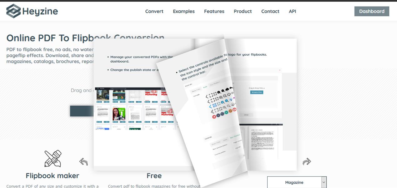 heyzine pdf to flipbook converter 1
