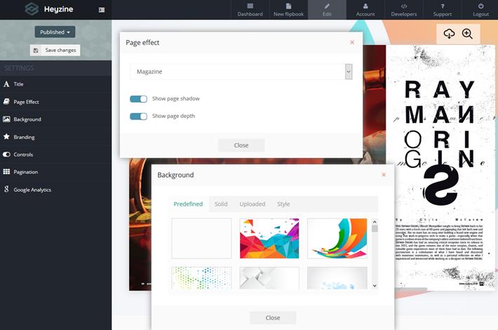 heyzine pdf to flipbook converter 2