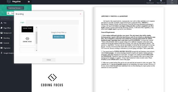 heyzine pdf to flipbook converter 3
