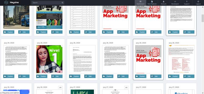 heyzine pdf to flipbook converter 5
