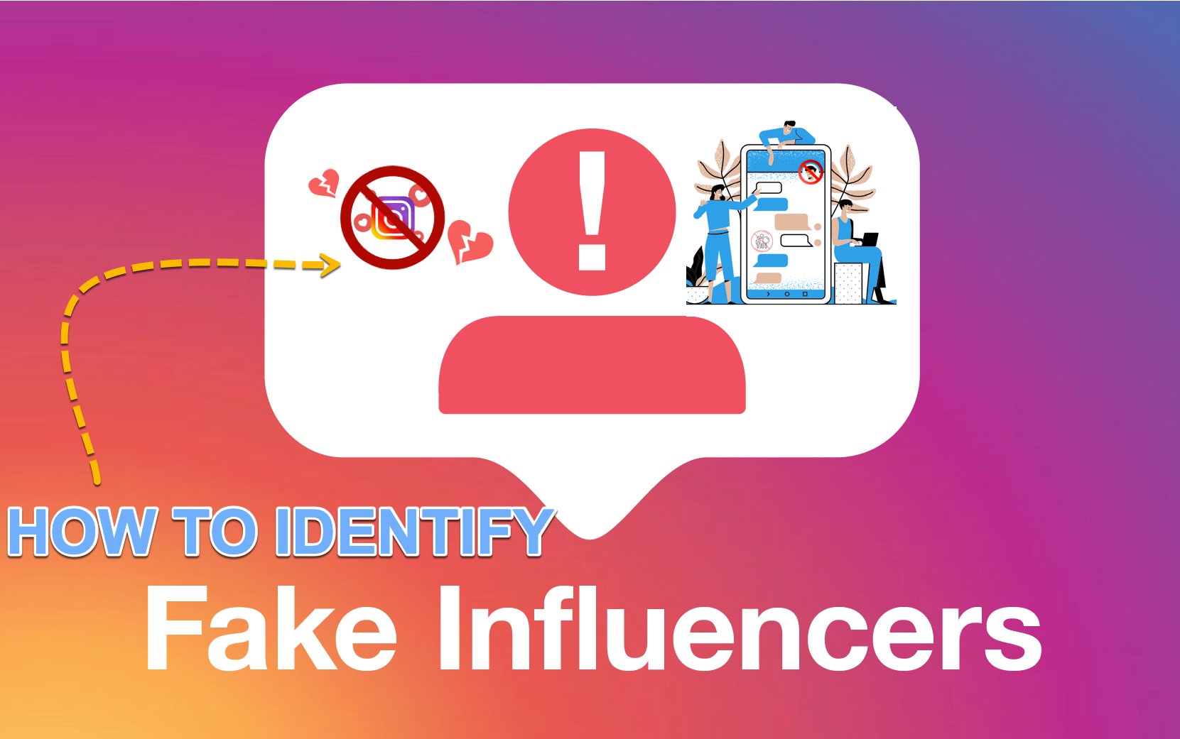 Identify Fake instagram influencers