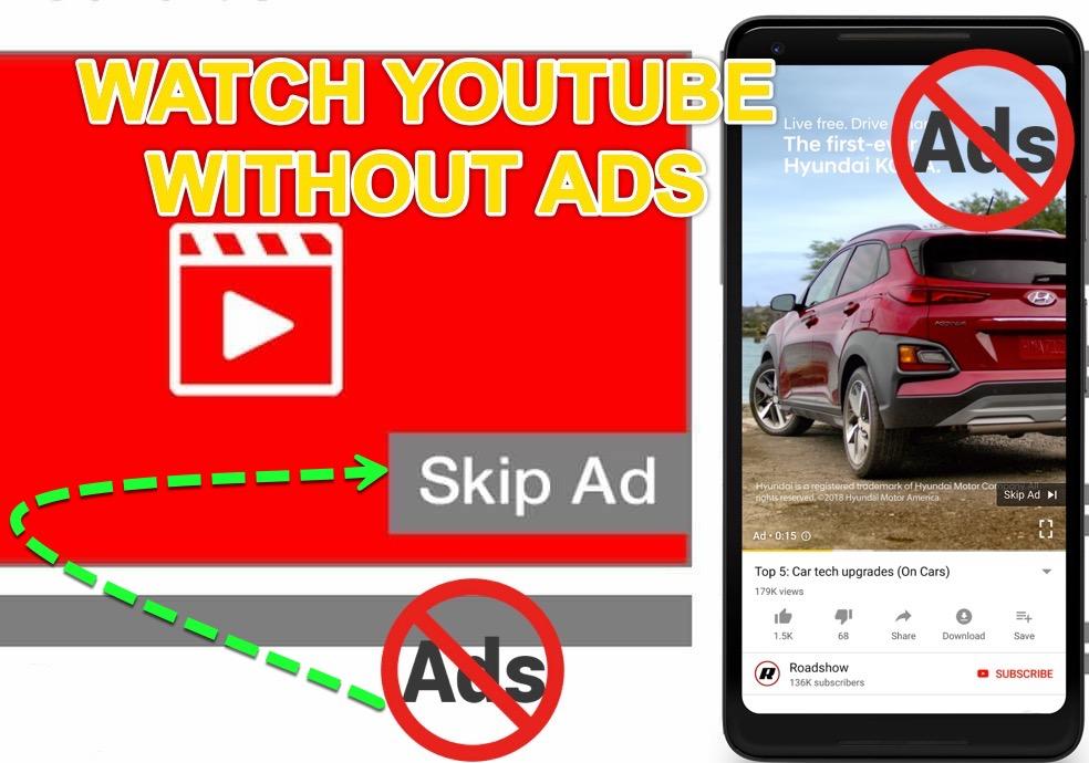 Skip-Youtube-ads-automatically