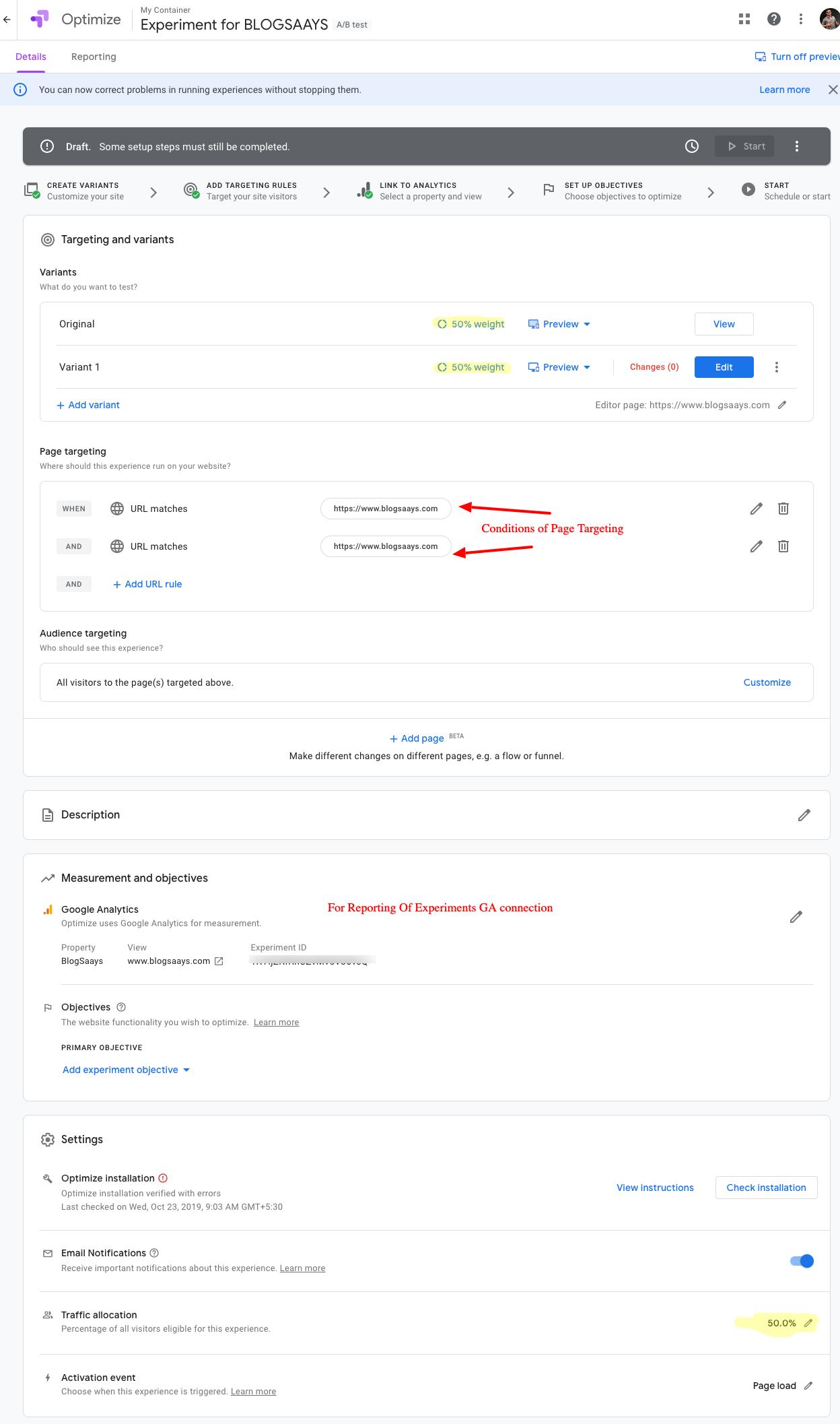 Website-traffic-Split-Testing-Google-Optimizer