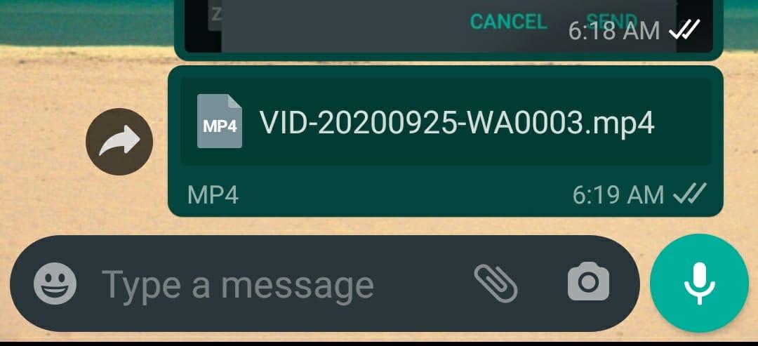 Sending Large Video Whataspp-3