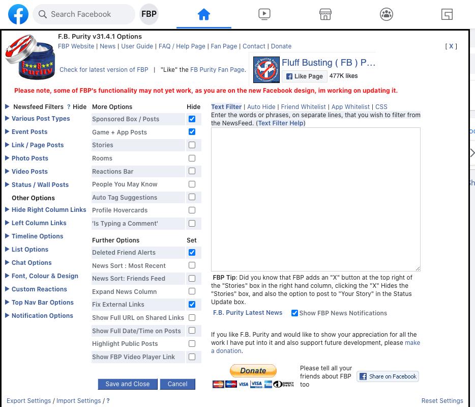 FBPurity-dashboard