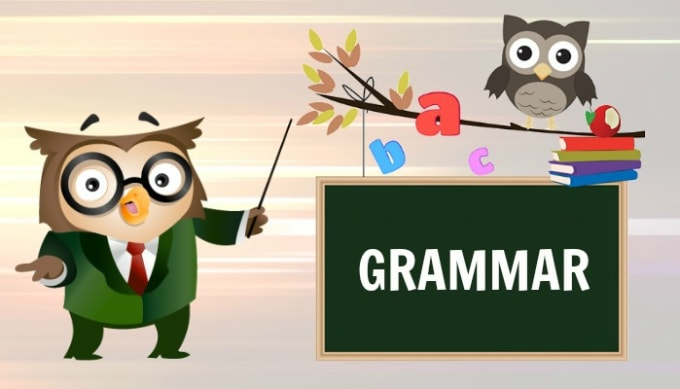 Grammar-spelling-checking