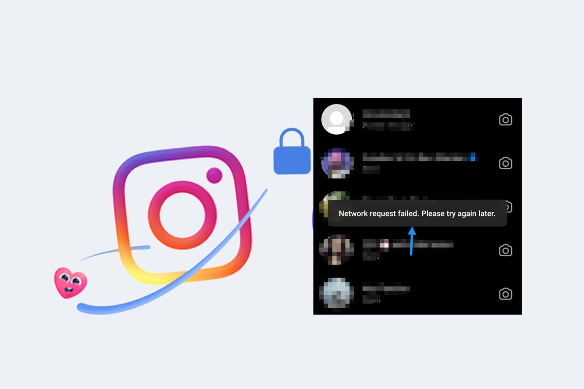 fix Instagram Network Request Failed, Please Try Again later error